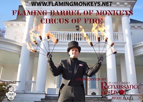 Flaming Barrel of Monkeys Entertainment2