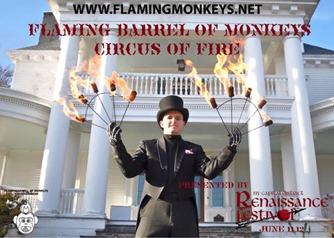 Flaming Barrel of Monkeys Entertainment2